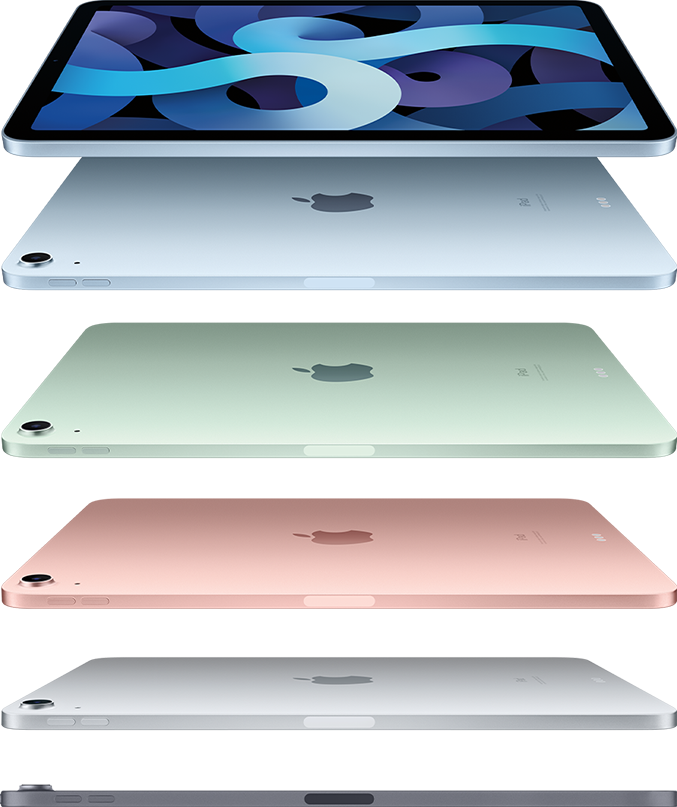 iPad Air - Dizainas ir ekranas