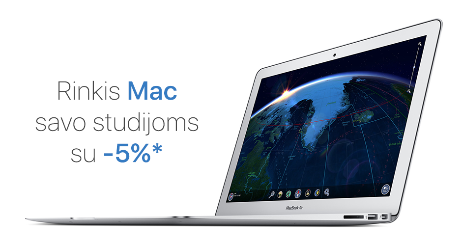 """Studijuok su """"Mac"""""""